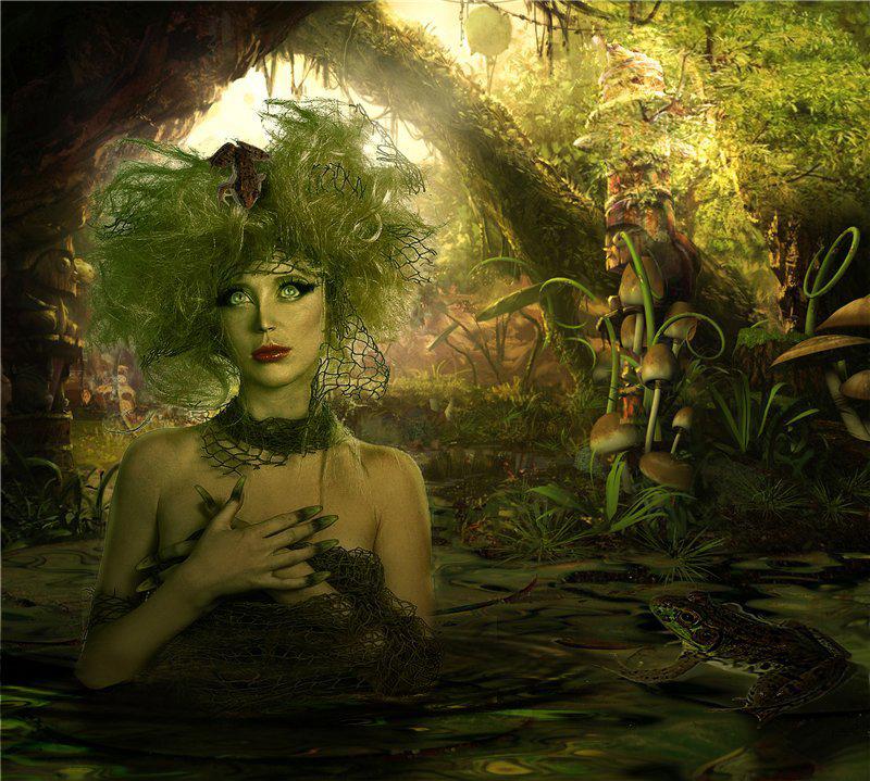 кикимора болотная картинки фото признаком породы