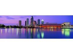 Панорамные фотографии городов сша