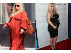 Знаменитости беременные фото