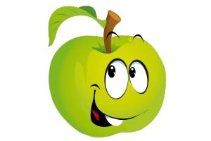 Картинка яблоко 5