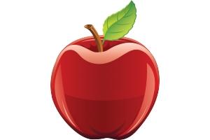Картинка яблоко 6