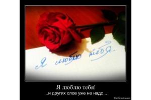 Фото я люблю тебя