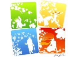 Времена года зима весна лето осень картинки