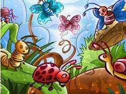 Водяные насекомые картинки 7
