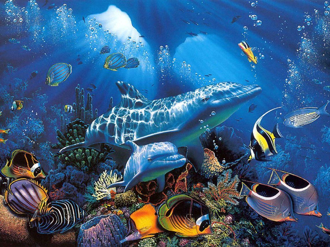 анимационные картинки подводного мира вам необходимо, чтобы