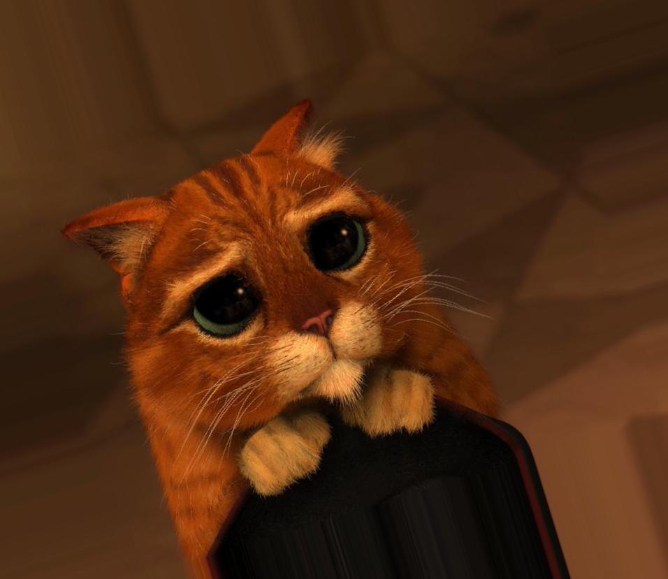 котята из шрека фото с глазами картинки модели