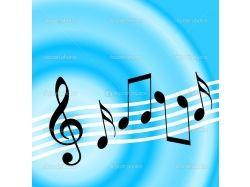 Музыкальные фоновые рисунки