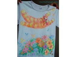 Рисунки на футболках любовь