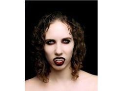 Макияж вампира на хэллоуин фото 7