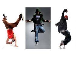 Тройные обои на тему танцы