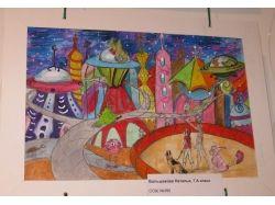 Рисунки космос глазами детей 2