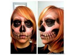 Фейс арт хэллоуин фото