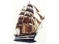 Рисунок как нарисовать корабль