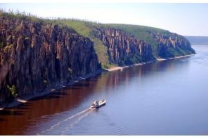 Река лена фото