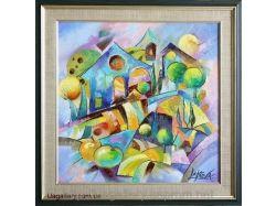 Абстракция картины купить 7