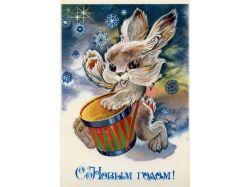 Новогодние открытки hallmark