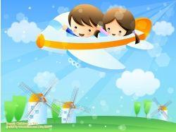 Картинки самолеты детские