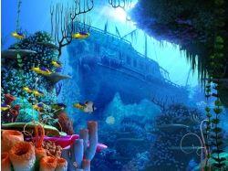 Подводный мир 3d скачать