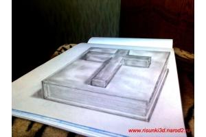 Рисунки 3d на бумаге