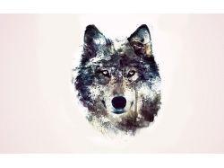 Абстракция рисунки животных 7