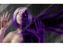 Арт демон девушка
