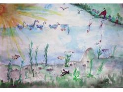 Рисунки на тему подводный мир глазами детей