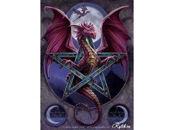 Драконы фэнтези картинки 7