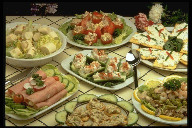 Блюда на юбилей рецепты с фото