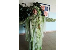 Новогодний костюм кикиморы фото