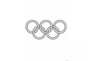 Олимпийские кольца картинки 3