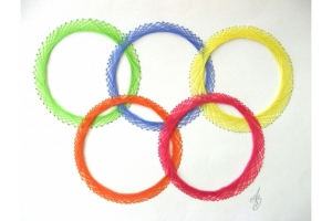 Олимпийские кольца картинки 7