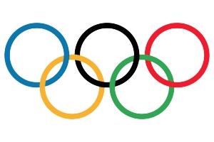 Олимпийские кольца картинки 8