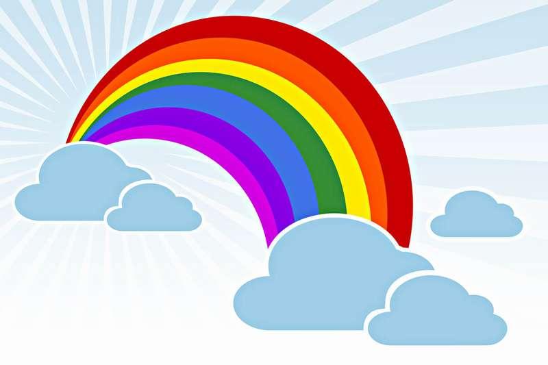 картинки радуга скачать