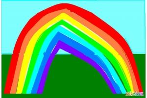 Рисунок радуга
