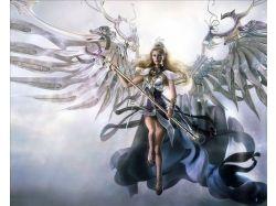 Фэнтези картинки девушки вампиры эльфы 7