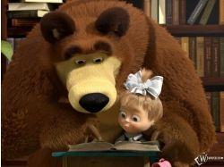 Маша и медведь мультфильм картинки фото