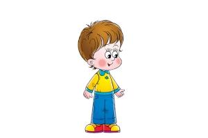 Рисунок мальчика