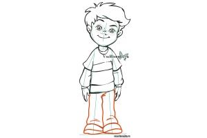 Рисунок мальчика 2