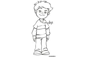 Рисунок мальчика 3