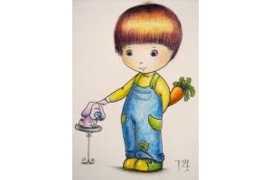 Рисунок мальчика 5
