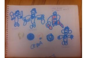 Рисунок мальчика 6