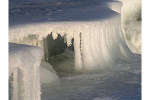 Снег и лед в природе фото 6