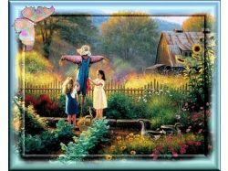 Картинки лето с детьми 7