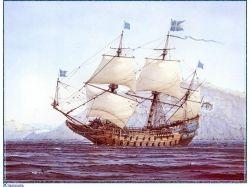 Рисунки парусных кораблей карандашом