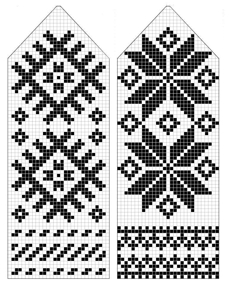 вчера картинки и схемы для вязания варежек каталоге представлены