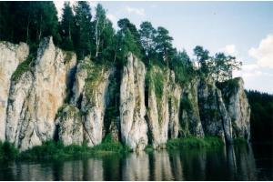 Фото река чусовая