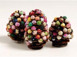 Поделки из еловых шишек своими руками на тему осень фото 7