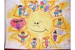 Мир глазами детей рисунки 2