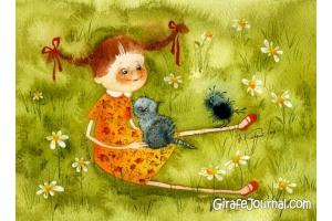 Мир глазами детей рисунки 8