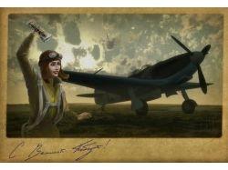 Авиация открытки